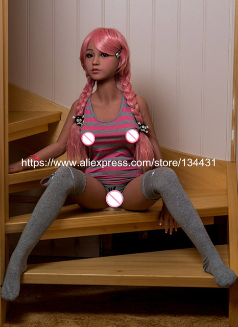 Adult Top Quality Real Silicone Sex Dolls 140cm Small Breast Young Lady Lifelike Love Doll Oral Vaginal Anal Japanese Real Doll