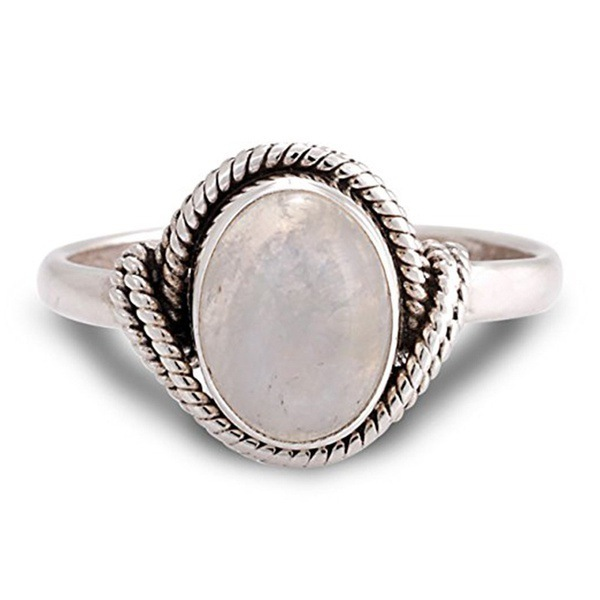 925 Silver Color Retro Marcasite Rose Quartz Ring for women Engagement Pink Crystal Bizuteria Topaz 925 Silver Jewelry Ring