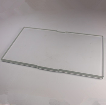 borosilicate Glass Plate for Replicator 2 Glass plate Replacement Upgrade 8mm glass build plate grade