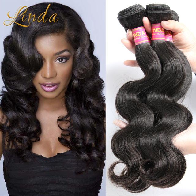 Rosa Queen Hair Products Indian Virgin Body Wave Indian Remy Human