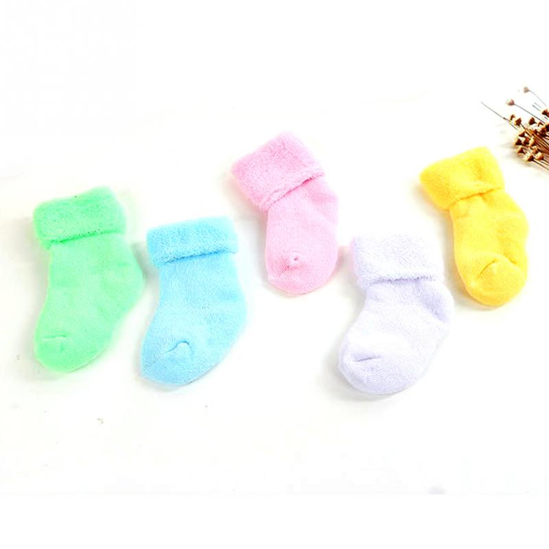 Colorful Clearance Fashion Winter Baby Kids Comfortable Soft Sock Girl Boys Unisex Newborn Keep Warm Toddler Infant Soft Socks