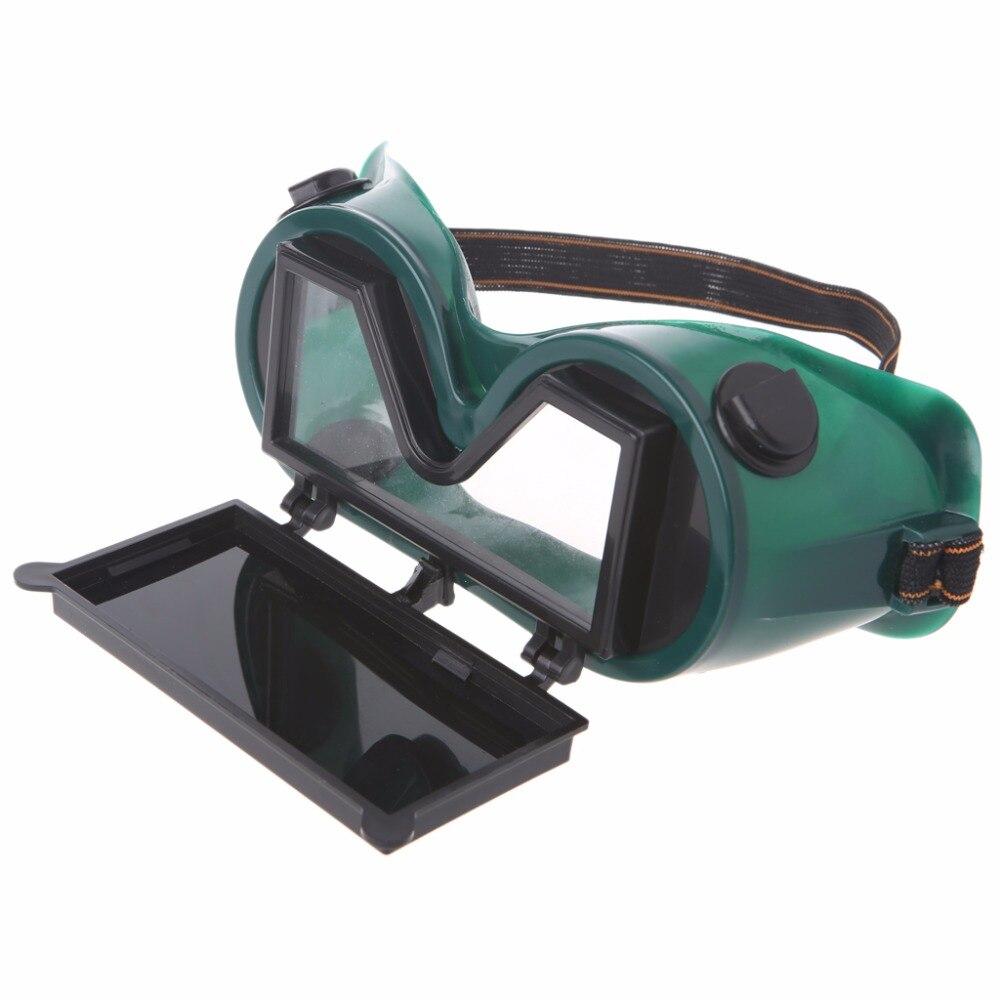 1 pc corte de moagem óculos de proteção de soldagem escudo de segurança máscara com flip up óculos lentes soldador segurança protecti