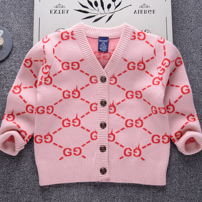 Brand Cardigan Sweater for Girls 2018 Winter Thick Sweaters Coat Kids Boys Infant Clothes Children Toddler Casual Sweater children autumn and winter warm clothes boys and girls thick cashmere sweaters