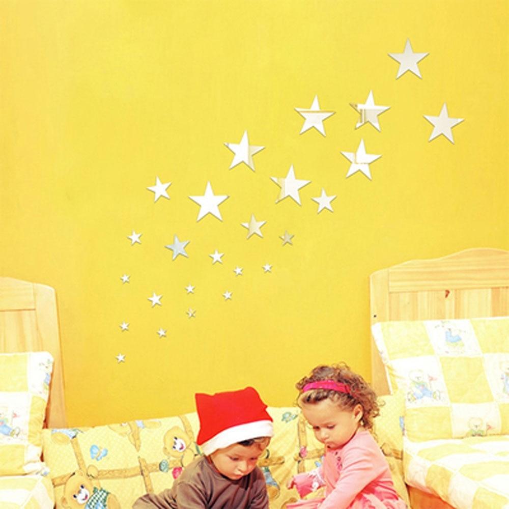 Colorful Decorative Wall Stars Photos - Art & Wall Decor - hecatalog ...