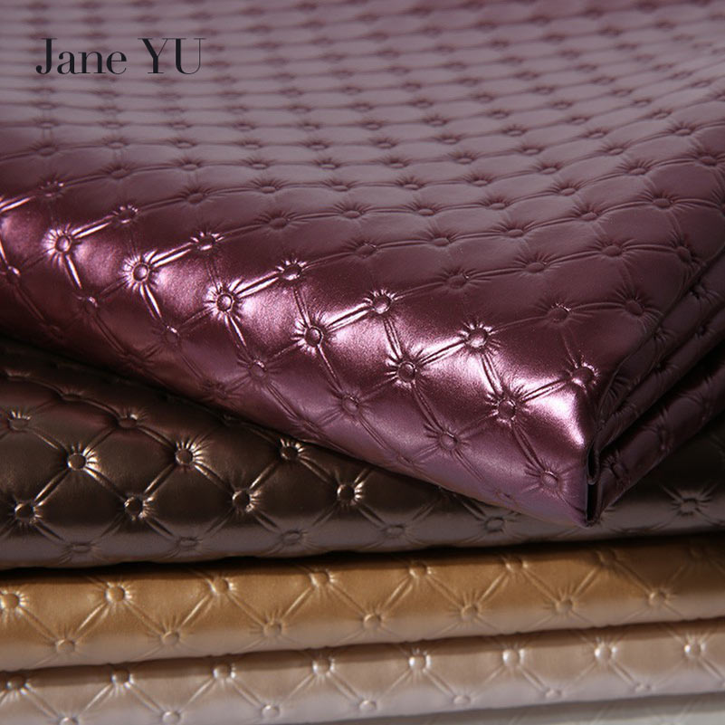JaneYU Pu Soft Leather Fabric Pack Bed Headboard Background Wall Sliding Door Imitation Leather Sofa Cloth Artificial Leather