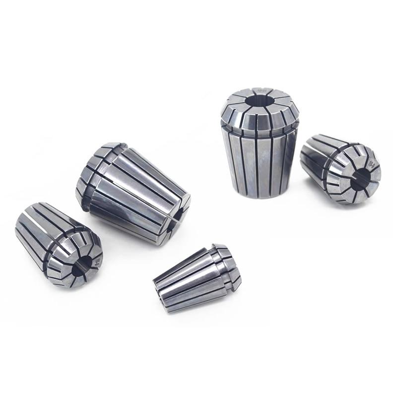 5pcs/set CNC Spring Collet ER11 3.175mm,6mm,6.35mm,6.5mm,7mm High Precision 0.007mm Chuck