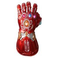 Avengers 4 Endgame Thanos Pvc LED Gloves Iron Man Infinity Gauntlet Cosplay action figures Marvel Superhero Party Props toys