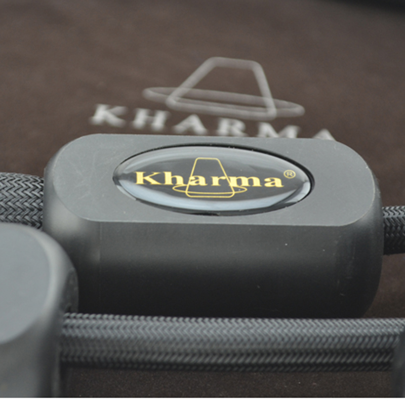 Free shippping pair Kharma KIC-GR-1B Grand Reference Interconnect with XLR plugs connector