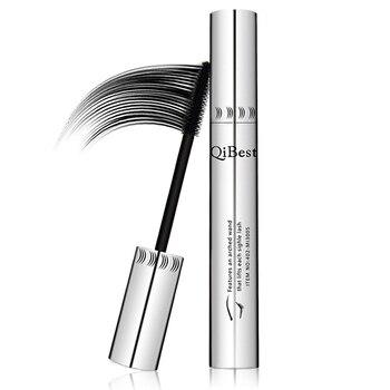 Qibest 24 Hours Mascara Brand New Makeup Mascara Volume Express False Eyelashes Make Up Waterproof Eyes Mascara Black