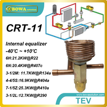 CRT-11 R22 6TR thermotatic expansion valves designed for a wide range of refrigerant, оборудование или машины.
