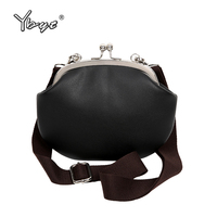 YBYT Brand 2017 New Vintage Casual Solid Mini Women Shell Bag Hotsale Ladies Phone Coin Purses