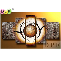 Abstract The Human Body Diy Diamond Embroidery Painting Square Rhinestone Cross Stitch Triptych Home Decor