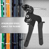 Laço de Aço inoxidável Cabo Alicate Braçadeira de Tensão Automático Cortar Ferramenta De Corte para a largura de Fixação Sob 12mm|Alicates| |  -