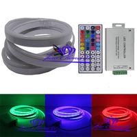 5050 80LED M RGB Flex Solf Led Neon Rope Strip Light 12V 24A 44key RGB Contoller