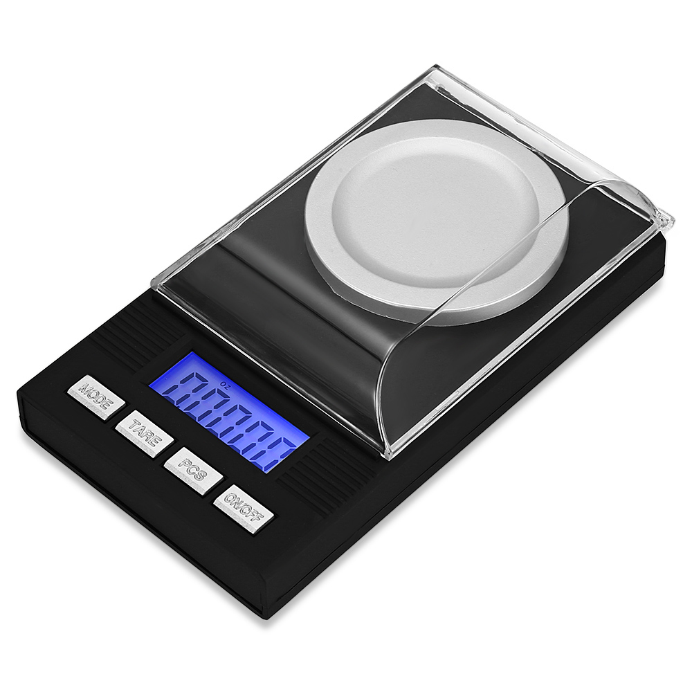 20g / 0.001g Digital High Precision Pocket Scale Weight Measurement Tool with LCD Display for Laboratory