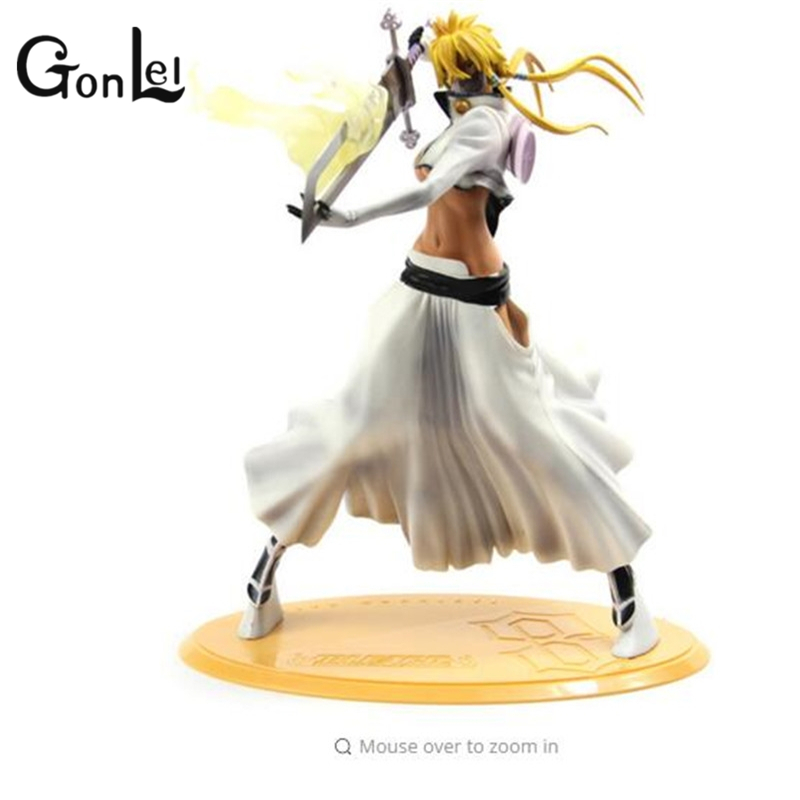 GonLeI Hot Sale 32cm Figurine Arrancar Tercera Espada Tear Halibel Sexy Girl Bleach PVC action figure toys free shipping P326