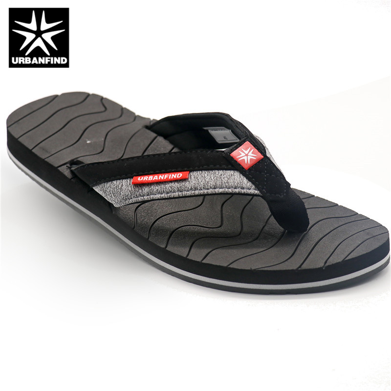 d0d8f915e Detail Feedback Questions about 2019 URBANFIND Men Fashion Flip Flops  Indoor   Outside Slippers Size 41 46 Patchwork Design Man Summer Casual  Shoes on ...