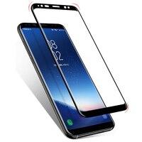 3D Gebogen Clear Full Lijm Gehard Glas sFor Samsung S8 S8 Plus Note 8 Screen Protector Vol Lijm