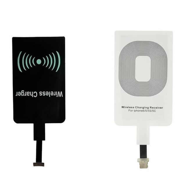 Qi Wireless Charger Receiver Charging Adapter Receptor micro USB for iPhone 5 6 6s plus type C Samsung Xiaomi HTC Android phone