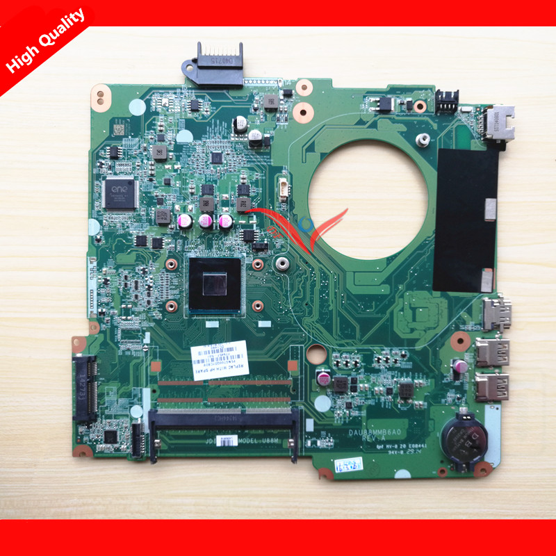 ФОТО 779457-501 DA0U87MB6C2 / DAU88MMB6A0  System Motherboard with CPU Fit for HP 15-F NOTEBOOK PC
