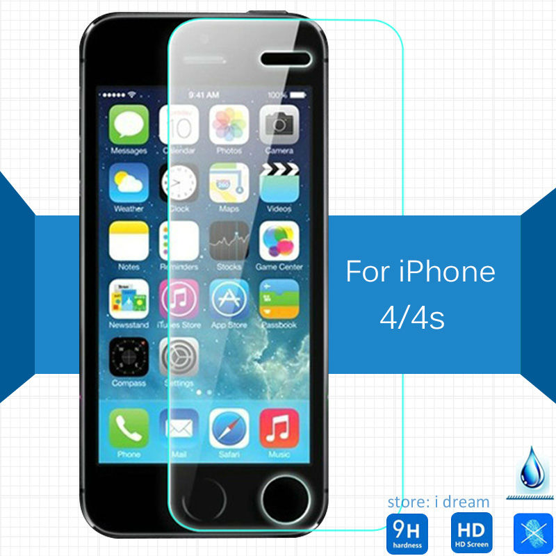 For Apple iphone 4 4s iphone4 Tempered glass Screen