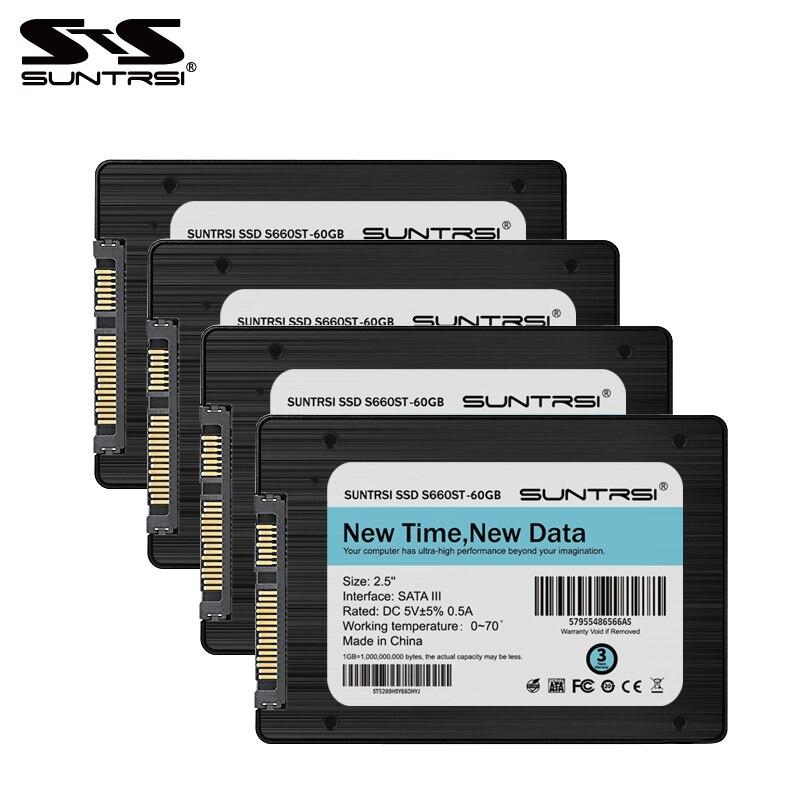 Suntrsi S660ST SSD 60g Interna Solid State Disk Ad Alta Velocità 120g 240g 2.5 pollice Voce Calda SATA3 per PC Desktop per il computer portatile Nuovo