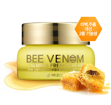 South Korea's authentic skincare mizon bee venom calm face cream Whitening and anti-wrinkle Soothing calm skin filling wat