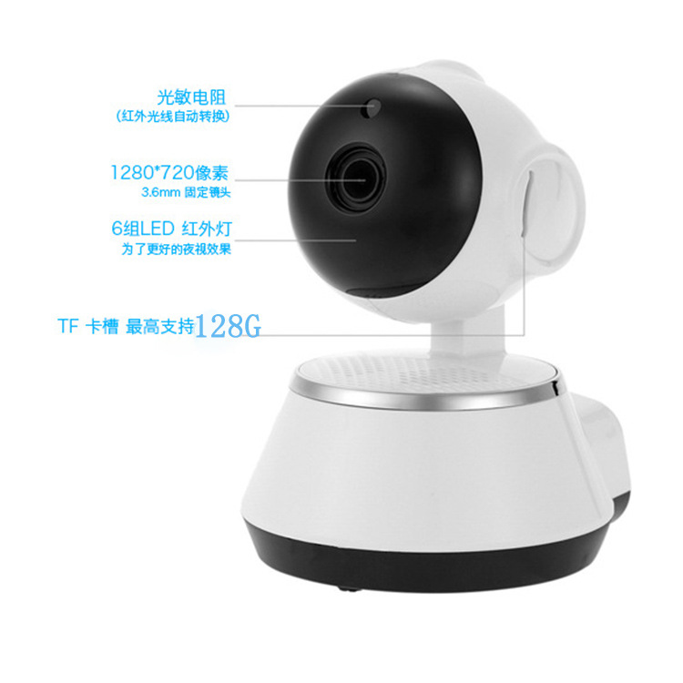 Home Security IP Camera Wireless Smart WiFi Camera WI-FI Audio Record Surveillance Baby Monitor HD Mini CCTV Camera iCSeeHome Security IP Camera Wireless Smart WiFi Camera WI-FI Audio Record Surveillance Baby Monitor HD Mini CCTV Camera iCSee