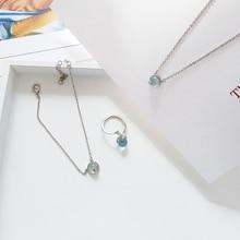 2019 fashion hot seller jewelry , minimalist Korean designer fishtail pendant, necklace for girls wedding/party