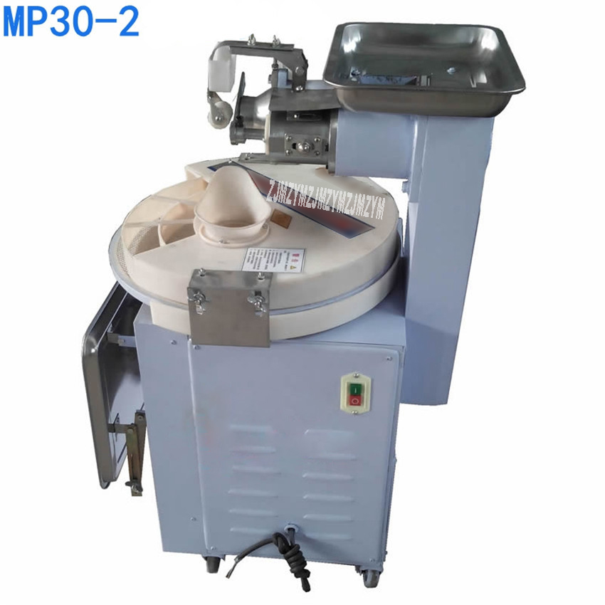 MP30-2 commercial dough divider rounder machine, ball pasta making machine automatic factory bread dough divider 1500W commercial stainless steel dough divider automatic cutting machine bread machine dough separator yf 36 220v 380v 750w 1pc