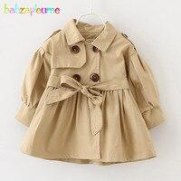 0-3Years/Bahar Sonbahar Bebek Kız Mont Ve Ceketler Pembe Bej Prenses Çocuk Rüzgarlık Bebek Palto Çocuk Giysileri BC1205