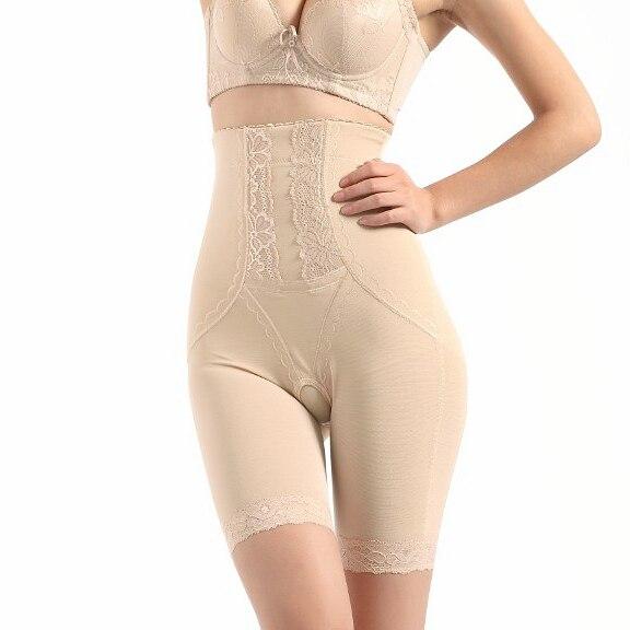 88723d86feefc Bamboo high waist abdomen thin waist drawing butt-lifting huwei legs  open-crotch body shaping pants plus size paragraph