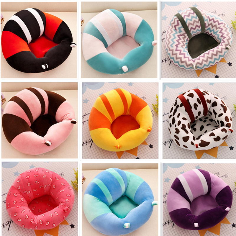 Colorful Baby Sofa Cozy Baby Support Seat Newborn Infant Baby Learning To Sit Chair 0-2 Years