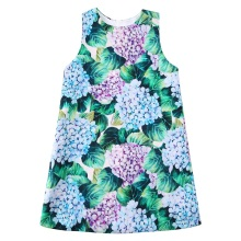 Baby Girls Dress Flowers Printed A Line Princess Dress Girls Clothes Moana Vestidos Kids Dresses Girls