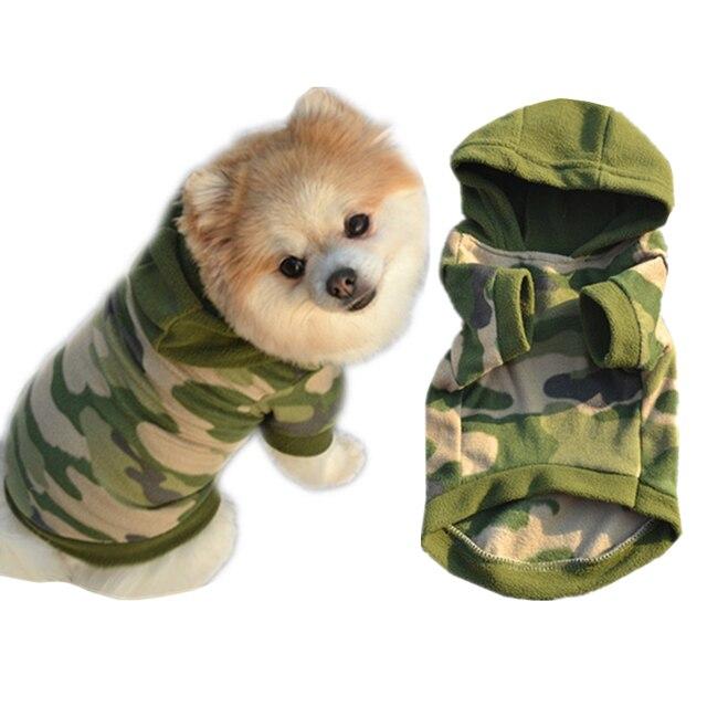 1 PC S, M, L, XL Elegante Cane di Animali Vestiti Con Cappuccio Maglione Caldo P
