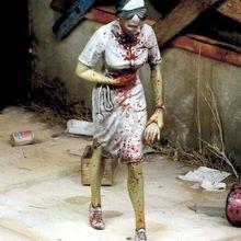 Miniature Model-Kits Soldier Resin-Figure Unpainted Zombie Undead Fictional Unassambled