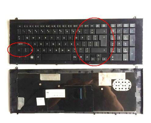 New Keyboard FOR HP ProBook 4720 4720S UI laptop keyboard