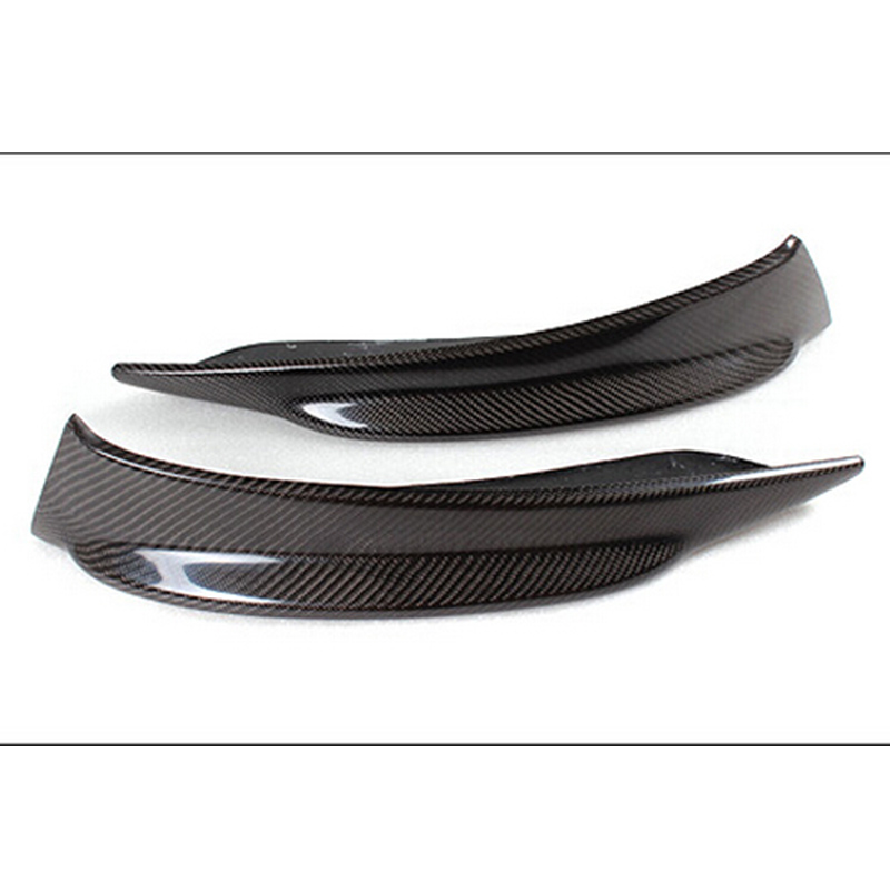 E89 Z4 Carbon Fiber Car-Styling Front Bumper Splitter Cover Trim for - Auto Replacement Parts - Photo 2