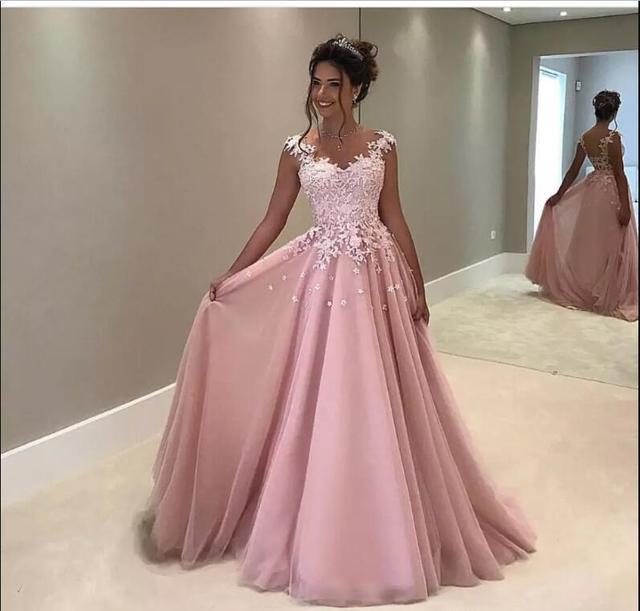Lujo Vestidos De Baile Vestido Largo Componente - Colección del ...