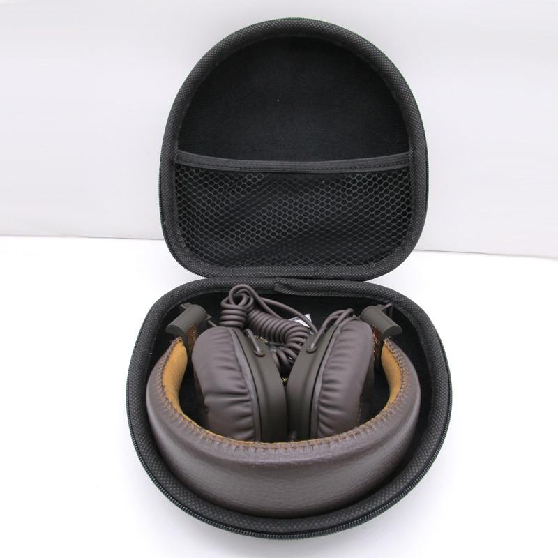 Funda de auriculares OEM dura para Marshall Major I II MID Bluetooth funda de auriculares caja de almacenamiento Portátil Bolsa negra sin LOGO