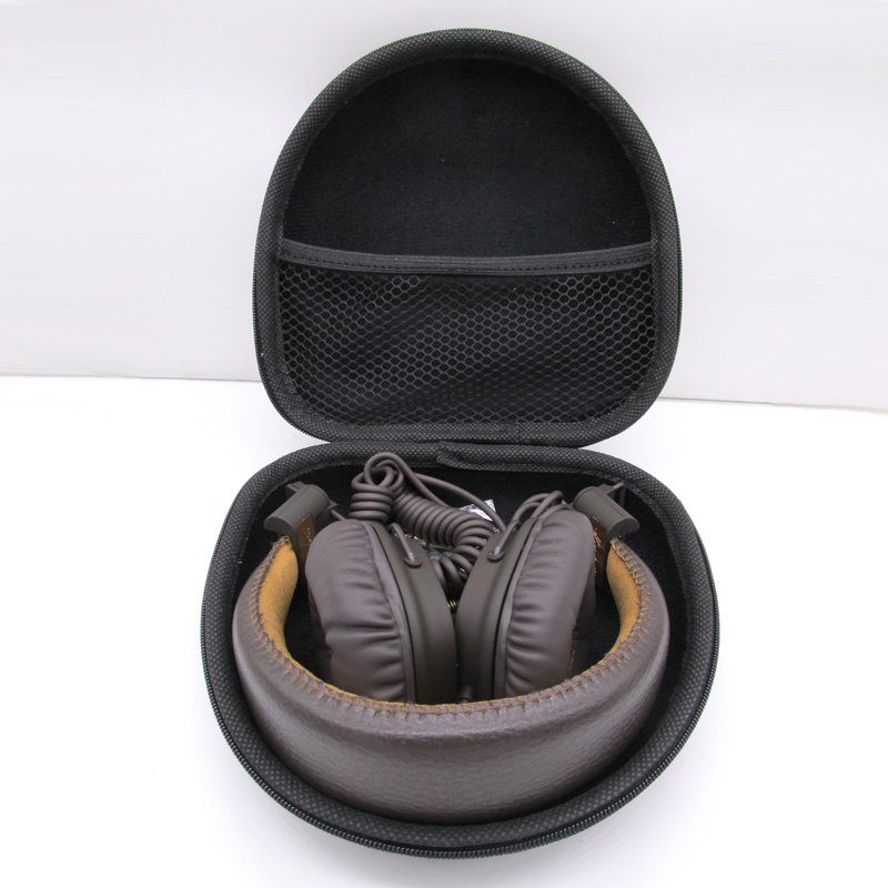 OEM Headphones Case Hard For Marshall Major I II MID Bluetooth Headphones Case Portable Storage Box Bag Black no LOGO гарнитура marshall mid bluetooth