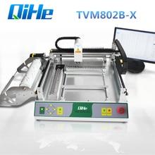 SMT палочки и место машина Qihe TVM802B-X Chip Монтажная светодиодная лампочка машина