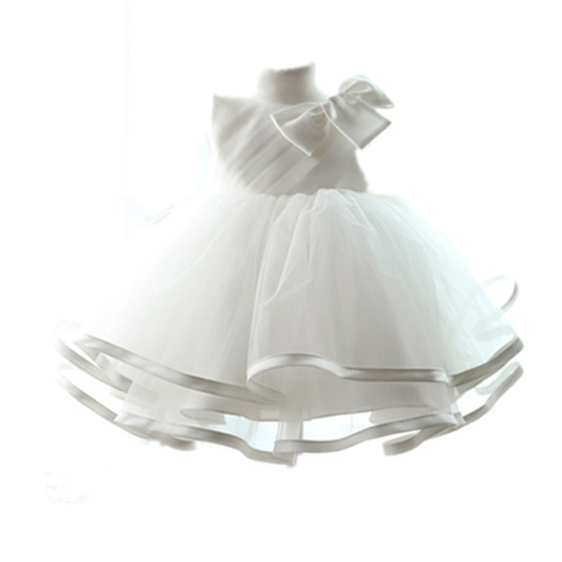 BBWOWLIN Baby Clothes Girls Dresses Christmas First Birthday Party Baptism Christening Gown Flower Girl Dresses Vestido 80105 bbwowlin baby girl shoes first walkers cotton crystal baby girls christening dresses for party wedding 90226
