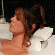 SPA Bath Pillow Non-Slip Bathtub Quick Drying/Odour Resistant/Antibacterial Soft With Suction Cups For Neck /Back