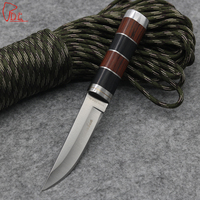 Dcbear Small Fixed Straight Knife With 3CR13 Steel Blade Survival Tactical Hunting Pocket Knife Multi Tools