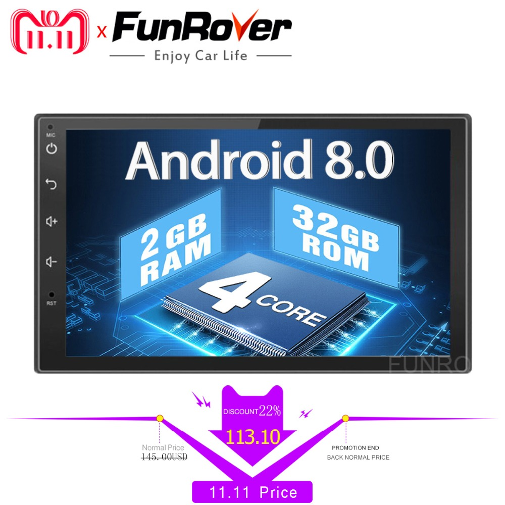 Two 2 din car radio gps android 8.0 stereo Car dvd Player Universal Autoradio Navigation Car Multimedia Player headunit navi RDS ouchuangbo universal touch cup mouse knob button for android car radio gps navigation system multimedia dvd player