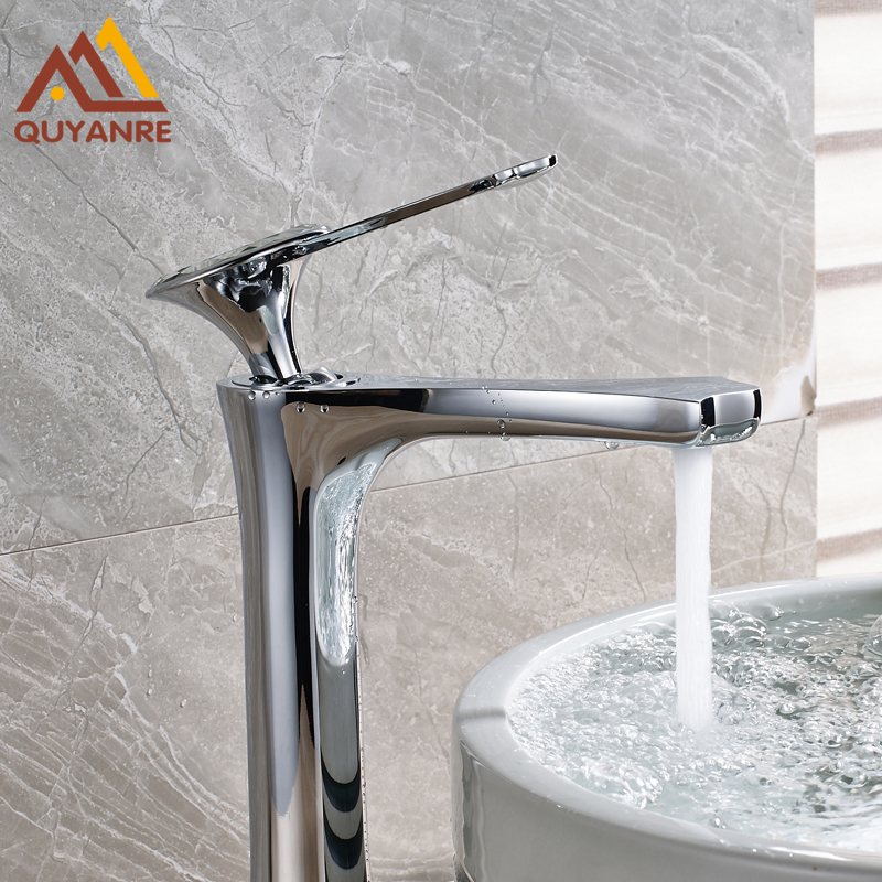 New Design Bright Chrome Basin Sink Faucets Deck Mounted One Hole Single Handle Hot and Cold Water Taps niko 50pcs chrome single coil pickup screws