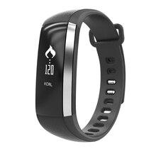 IP67 Водонепроницаемый фитнес-браслет 24 h монитор сердечного ритма часы крови Давление Браслет Шагомер фитнес-группа