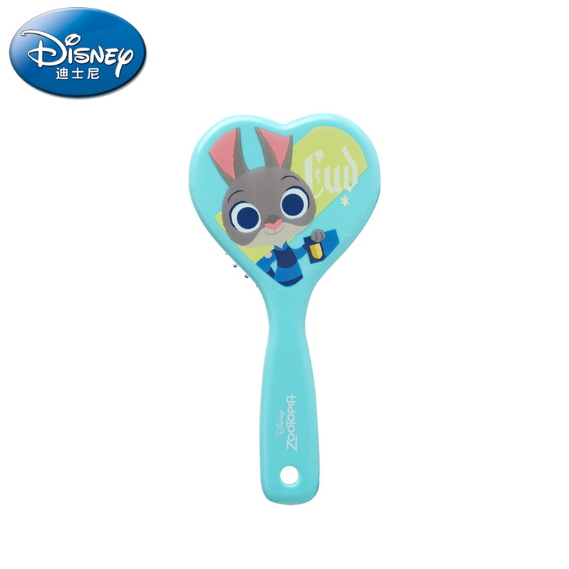 Disney Zootopia Judy Hair Brush brosse cheveux Kids Gentle Anti-static Brush Tangle Wet Dry Bristles Handle Tangle Comb Curly