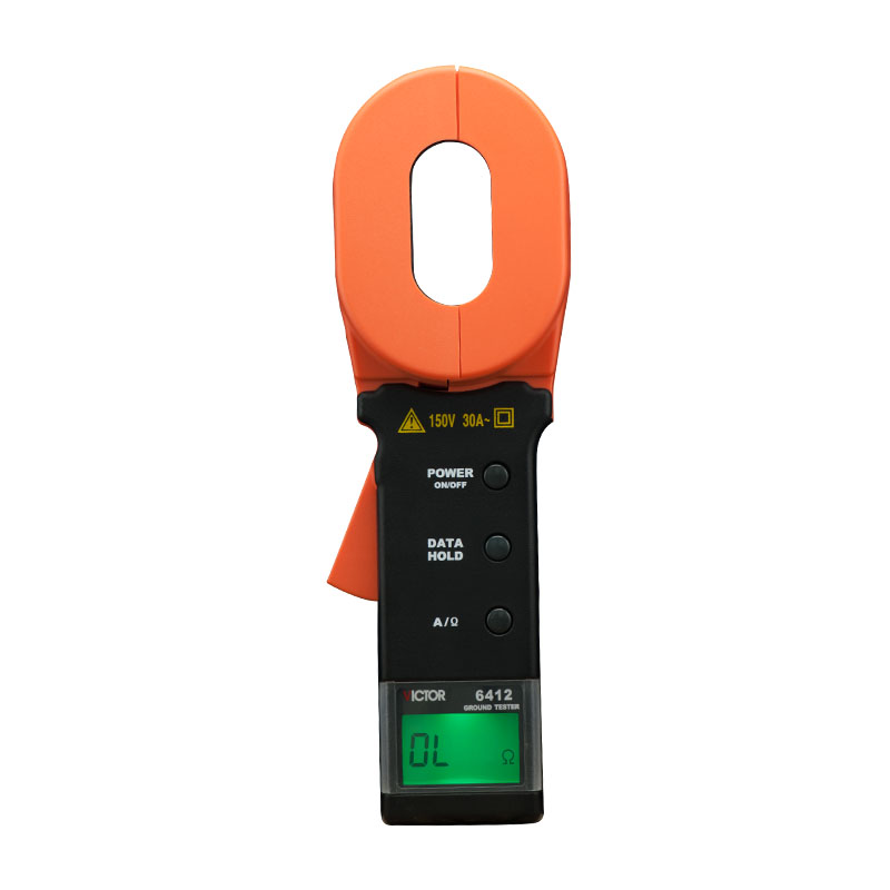 New Type Digital Clamp Grounded resistance tester VICTOR 6412